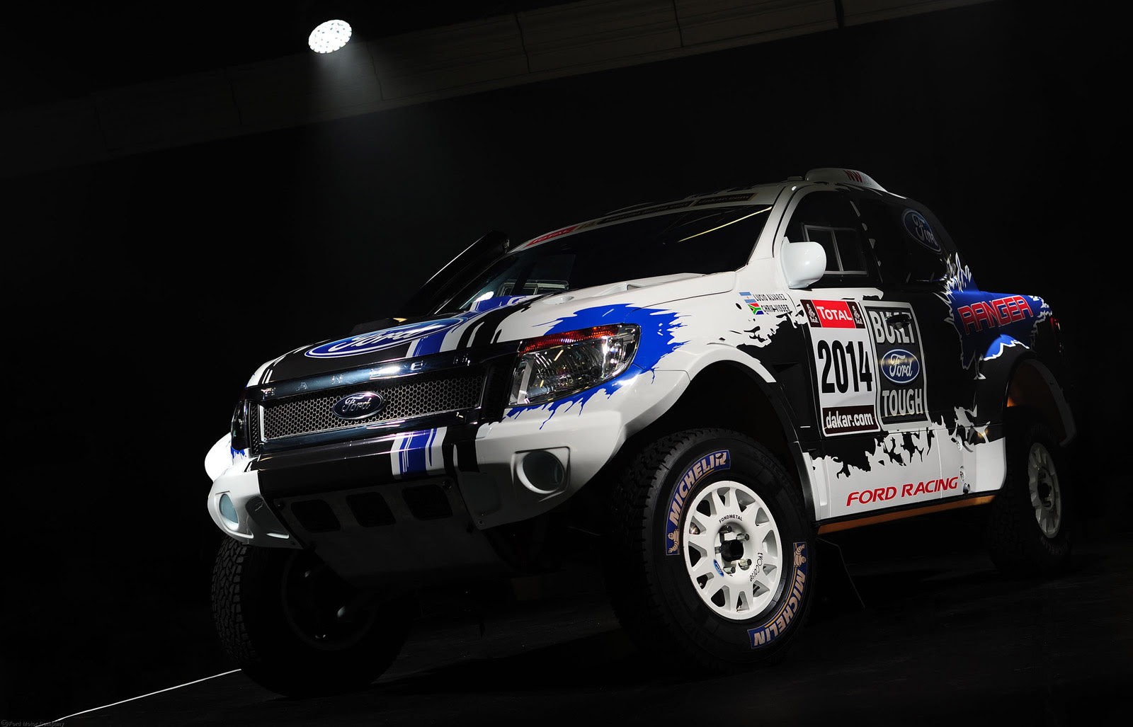 Ford To Enter 2014 Dakar Rally With Mustang-Powered Ranger ...