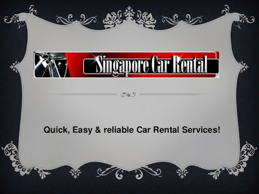 Quick, easy & reliable car rental services!