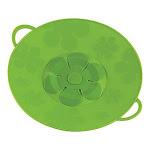 Kuhn Rikon Kochblume Spill Stopper, 11-Inch, Green
