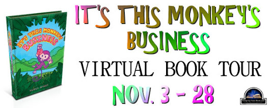 2014 Blog Tour: It's This Monkey's Business