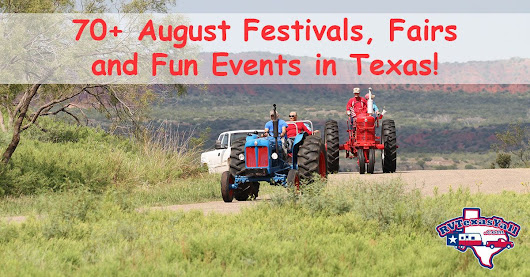 August Festivals and Fun Events in Texas | RV Texas Y'all