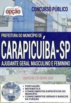apostila AJUDANTE GERAL MASCULINO E FEMININO