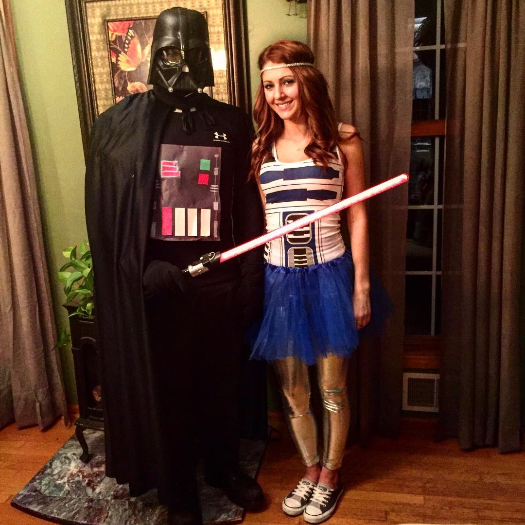 Quick and easy couples Star Wars costume : StarWars