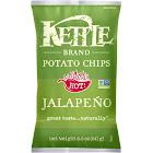 Kettle Brand Potato Chips, Jalapeno - 8.5 oz bag