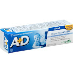 A+D Diaper Rash Cream - 4 oz