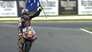 Moto3 Australia Race Miller