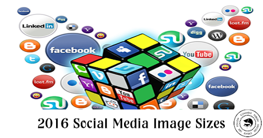 2016 Social Media Image Sizes | Savvy Social Media