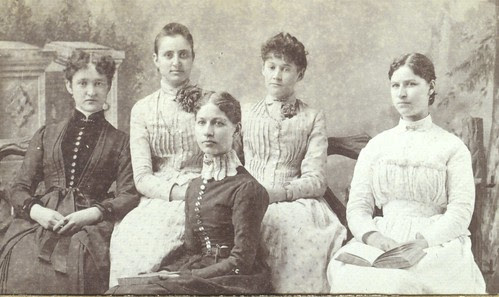 College girls in 1884