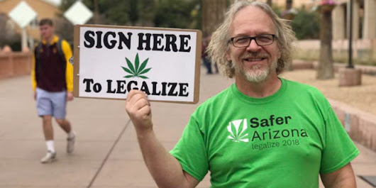 Arizona Group Is Seeking to Legalize Marijuana This November