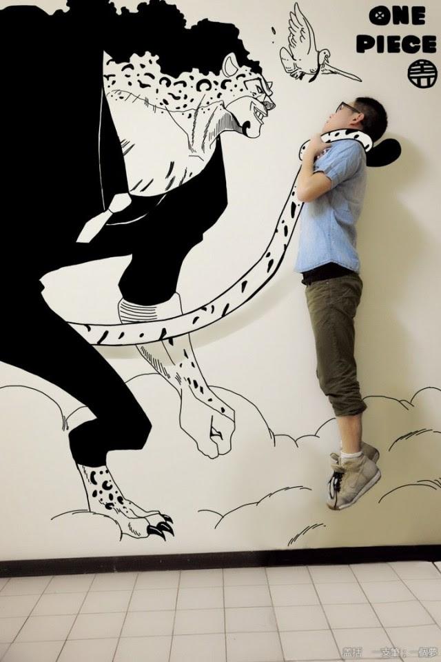 Comic Book Illustrations Into The Real World Fubiz Media