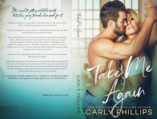 Surprise Announcement! Take Me Again by Carly Phillips