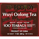 Foojoy Wuyi Mtn. Oolong (wu Long) Tea 100 Tea Bags 7 Ounce
