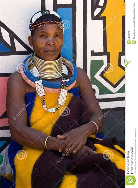 Ndebele Woman Editorial Stock Image   Image: 5440029