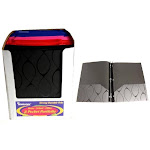 Poly 3 Ring 2 Pocket Portfolio - Elliptical Case Pack 48