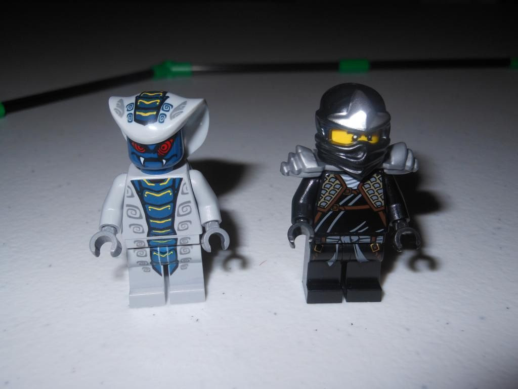 Lego NinjaGO mini-figures
