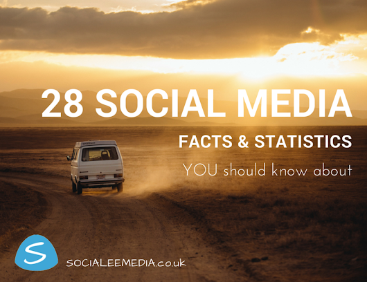 28 Social Media Facts and Statistics You Should Know About