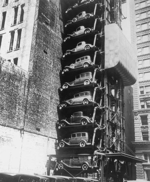 vertical car park