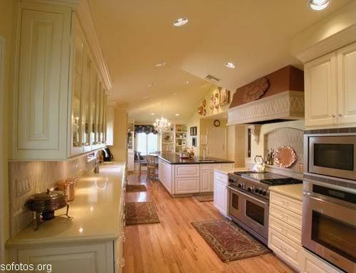Cozinhas planejadas em apartamento