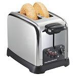 Hamilton Beach 22790 2 Slice Chrome Classic Bagel Toaster
