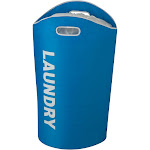 Honey Can Do Laundry Tote Blue
