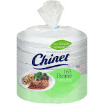 Chinet Paper Dinner Plates - 165 Count