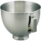 KitchenAid - K45SBWH 4-1/2-Quart Bowl - Stainless-Steel