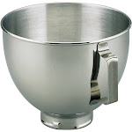 KitchenAid - K45SBWH 4-1/2-Quart Bowl - Stainless-Steel