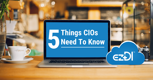 5 Things every Healthcare CIOs needs to know | Blog