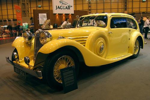 1935 Jaguar SS Airline Saloon por jonesy59.