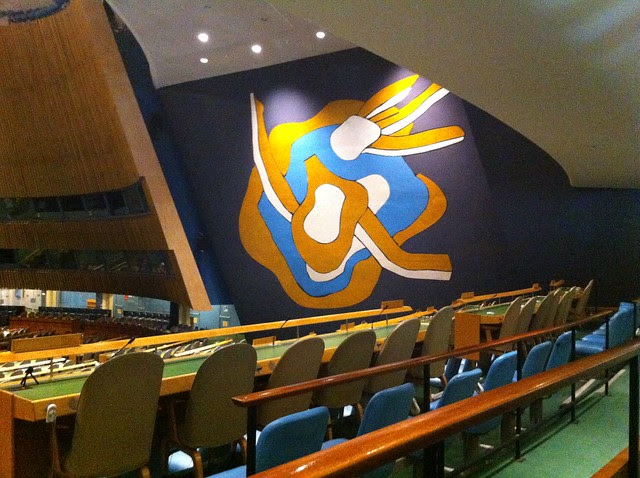 From a Visit to the UN
