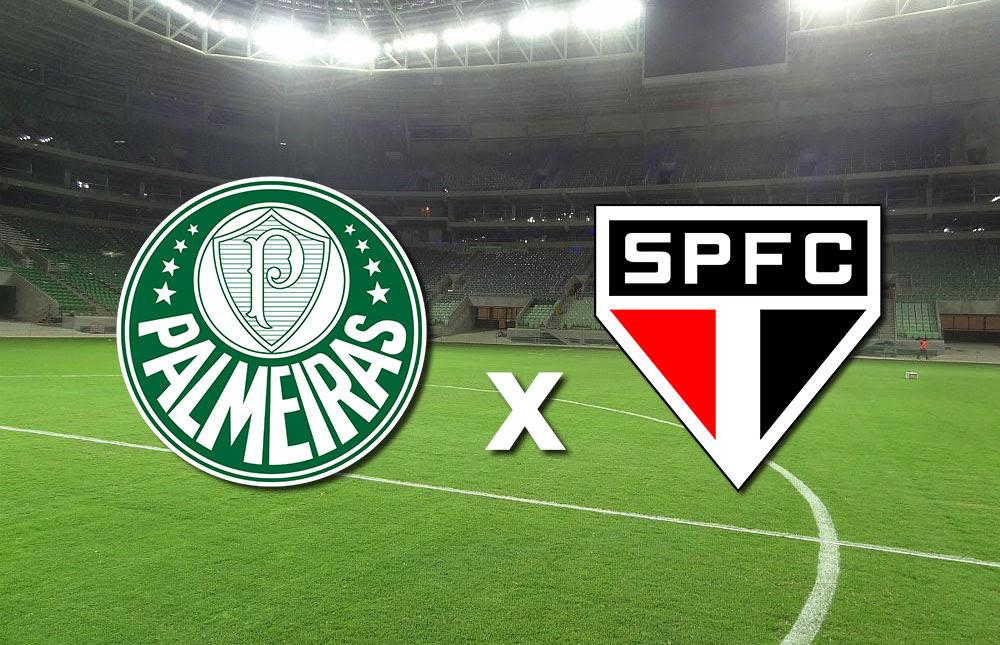 Resultado de imagem para Palmeiras X São Paulo - Paulistão