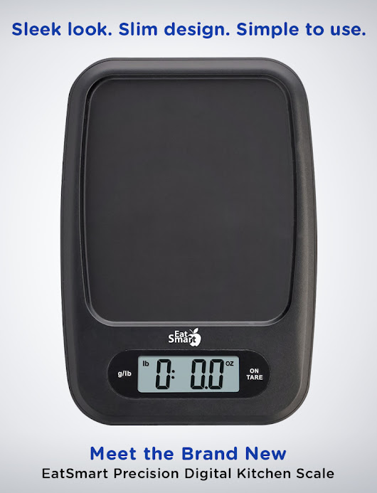 Introducing the EatSmart Precision Digital Kitchen Scale