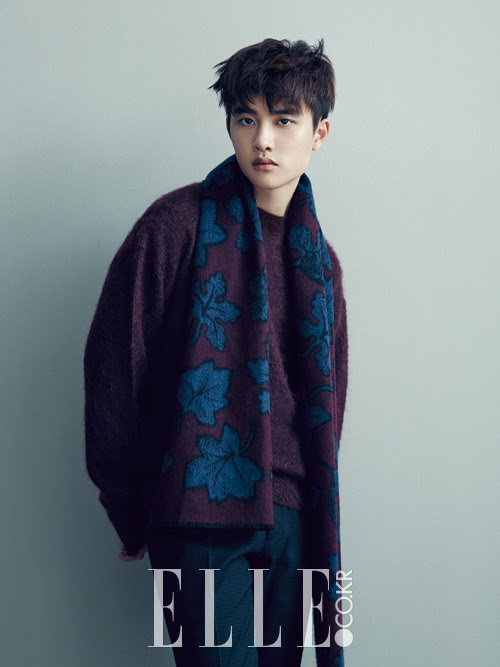 EXO D.O - Elle Magazine December Issue '14
