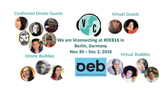 We Are @VConnecting at #OEB16 Online Educa Berlin
