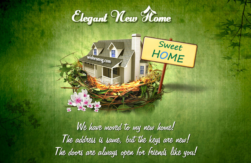 New Home Wishes Congratulation Messages For New Home Wishesmsg