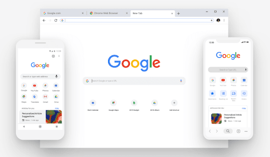 Google Chrome New Look