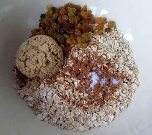 Baked Oatmeal, Ingredients