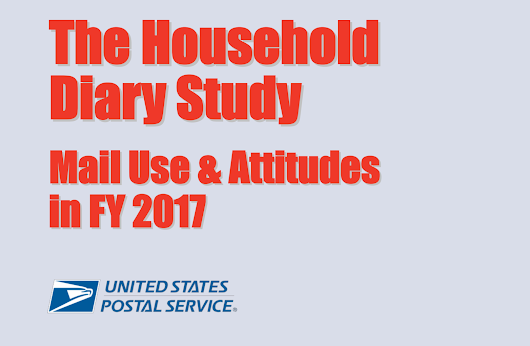 USPS Household Diary Study for 2017 | Data Services, Inc.