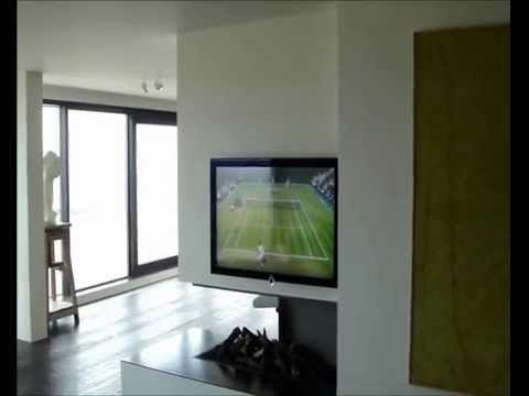 Il camino è bio il progetto in una stanza casa design