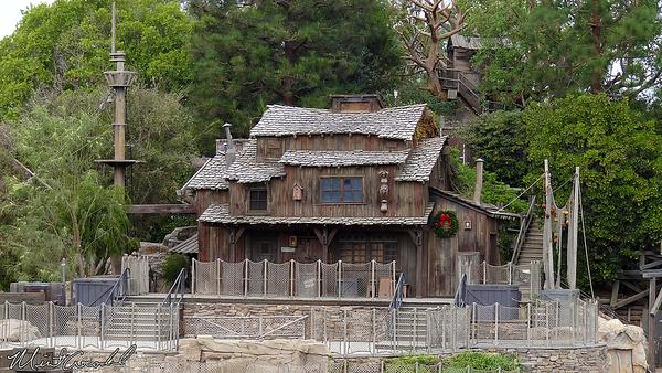 Disneyland Resort, Disneyland, Frontierland, Christmas, Christmas Time