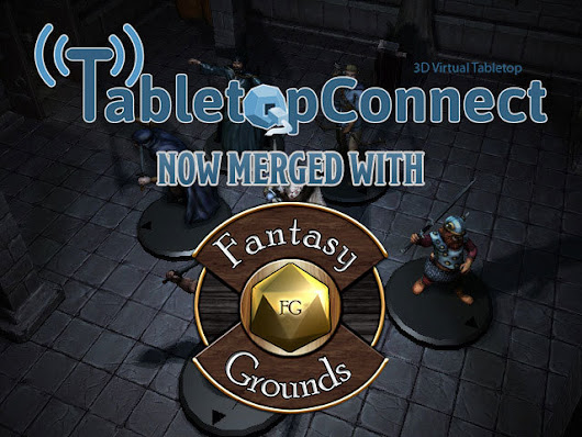 Tabletop connect credit on BackerKit