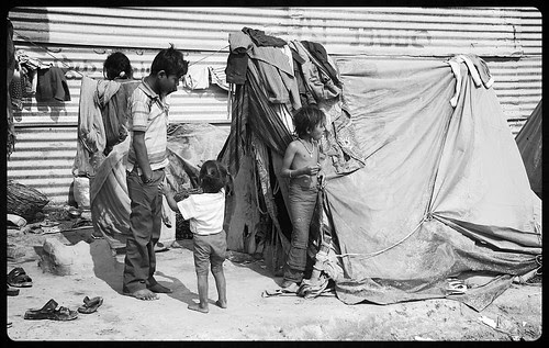 The Poor Of India .. Are A Very Religious Lot.. by firoze shakir photographerno1