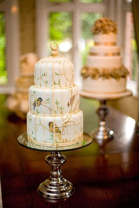 Cake Trend   Bird Cage Cakes   Paul Bradford Sugarcraft School