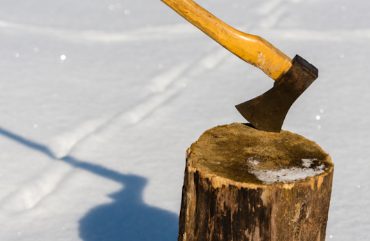 Is Your REALTOR® Sharpening An Axe?