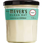 Mrs Meyers Clean Day Soy Candle, Scented, Basil Scent - 7.2 oz