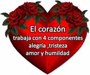 Imagen De Amor De Un Corazon Con Frase Tierna