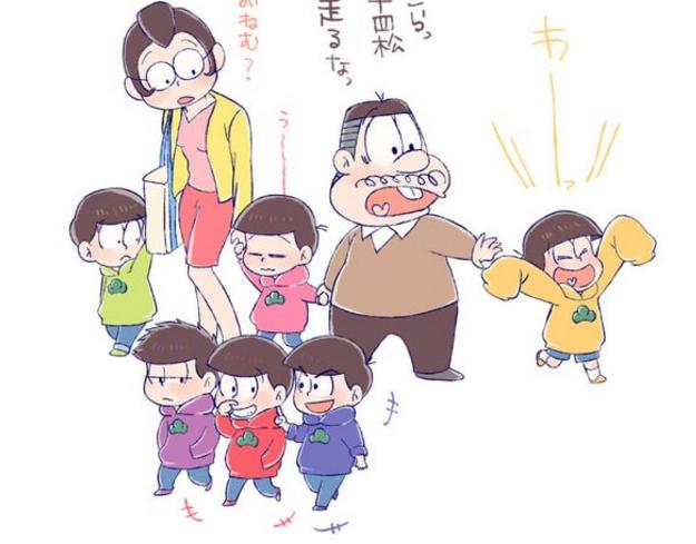 おそ松さん家族でお出かけイラスト アニじょし 女性向けまとめサイト