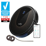 eufy [BoostIQ] RoboVac 30C, Robot Vacuum Cleaner, Wi-Fi, Super-Thin, Powerful 1500Pa Suction, Boundary Strips Included, Quiet, Self-Charging