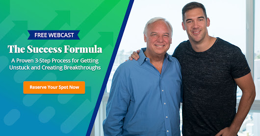 Free Webcast | The Success Formula: A Proven 3-Step Process for Getting Unstuck and Creating Breakthroughs