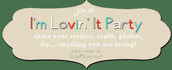 I'm Lovin It Party at TidyMom.net every week!